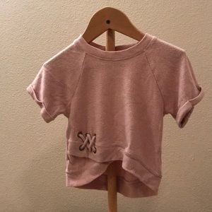 Other - Pink  short sleeve shirt